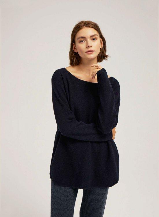 100% Cashmere Boatneck Sweater